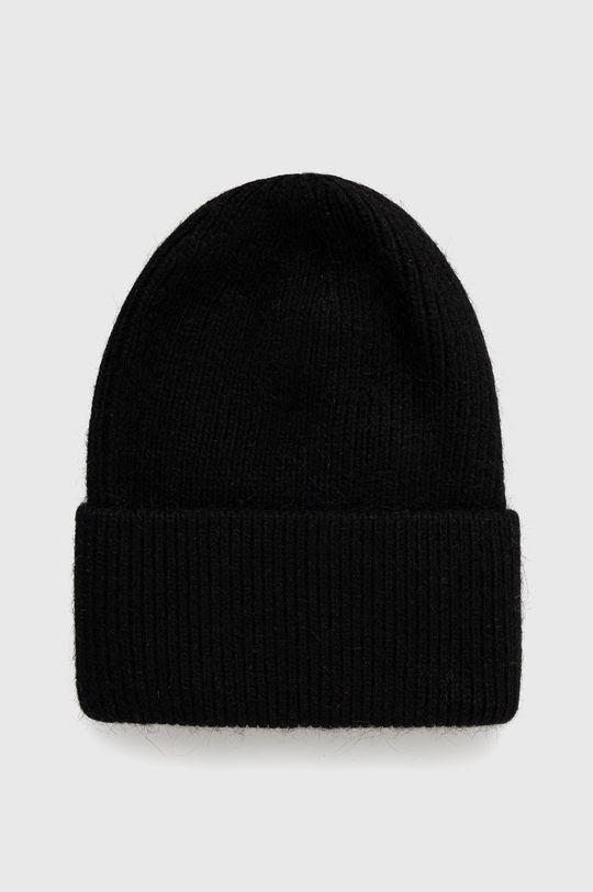 černá Answear Lab - Vlněný klobouk Dámský
