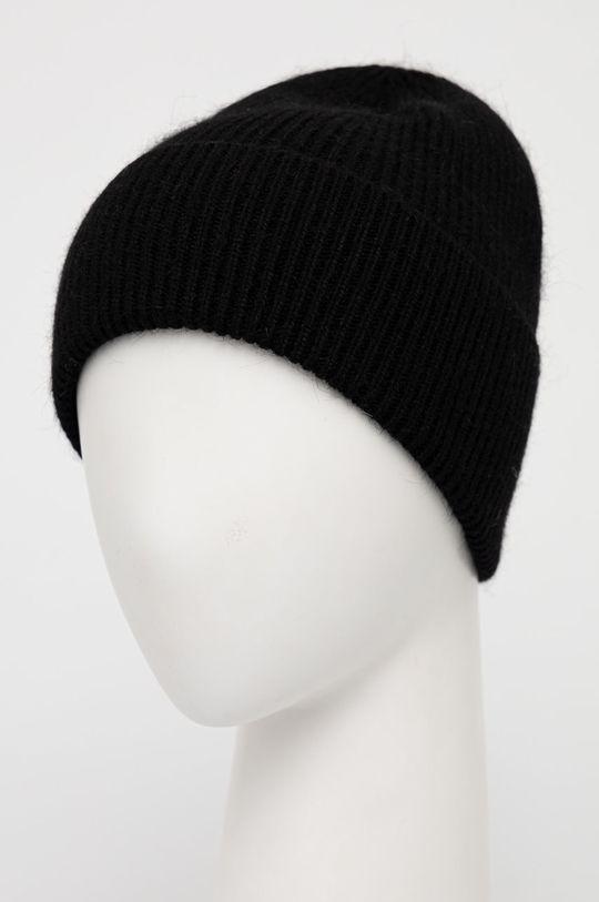 Answear Lab - Vlněný klobouk černá