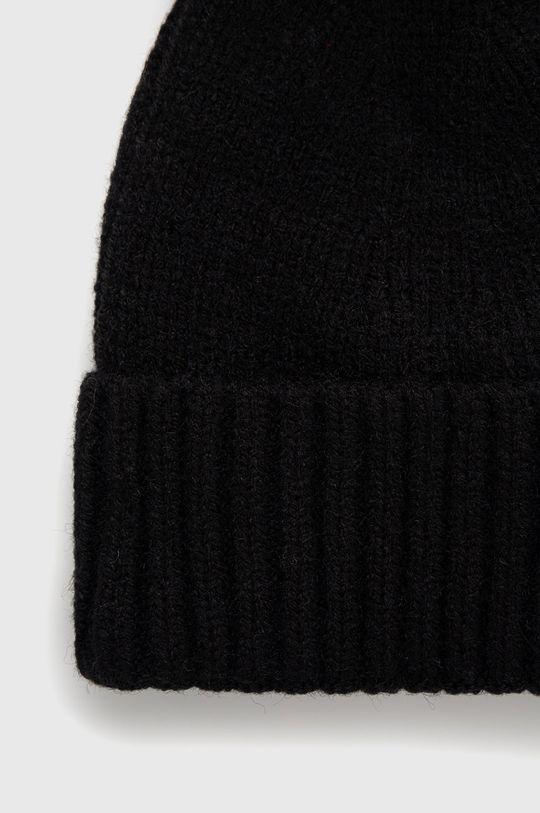 Answear Lab - Čepice z vlněné směsi  50% Akryl, 30% Bavlna, 20% Vlna
