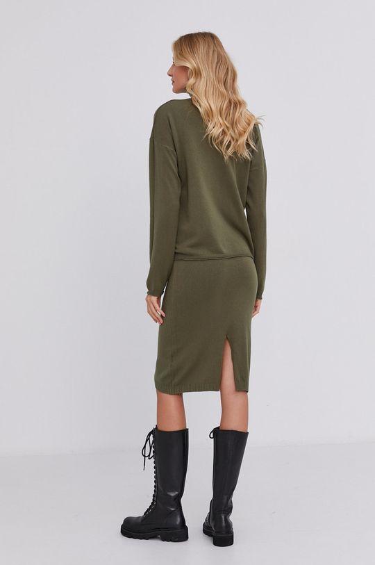 Answear Lab - Sukienka i sweter 20 % Nylon, 30 % Poliamid, 50 % Wiskoza