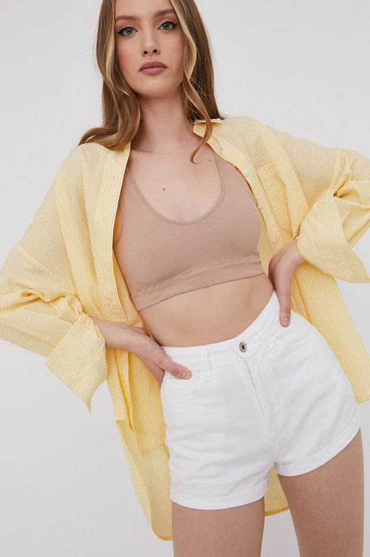 żółty Answear Lab - Koszula Damski
