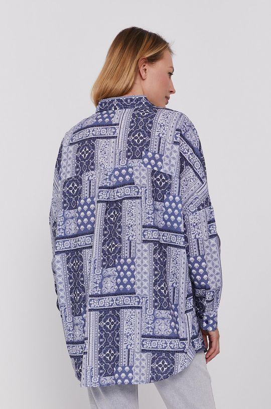 niebieski Answear Lab - Koszula bawełniana