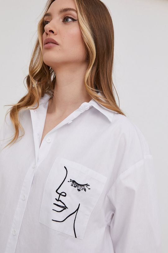 biały Answear Lab - Koszula