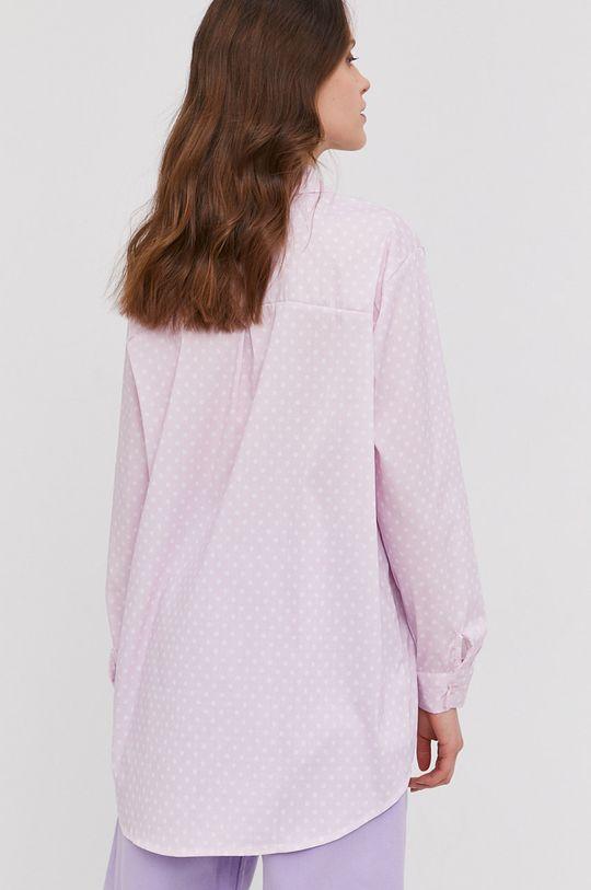ružovo-červená Answear Lab - Košeľa