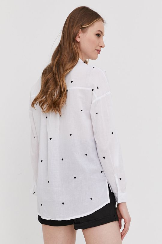 biały Answear Lab - Koszula bawełniana