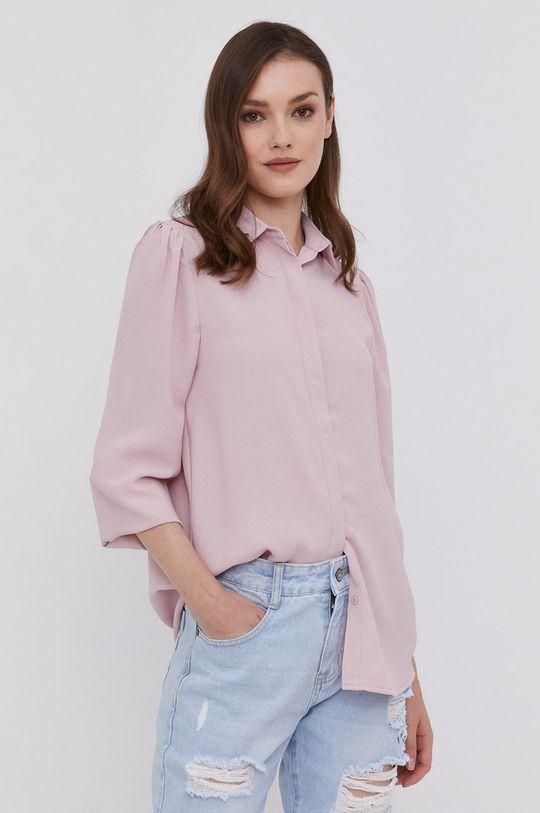 ružová Answear Lab - Košeľa Dámsky