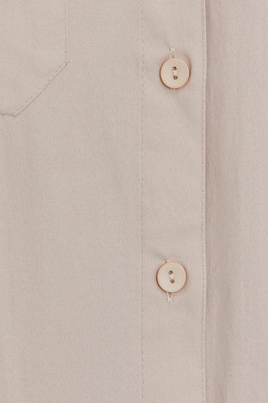 Answear Lab - Bavlnená košeľa béžová