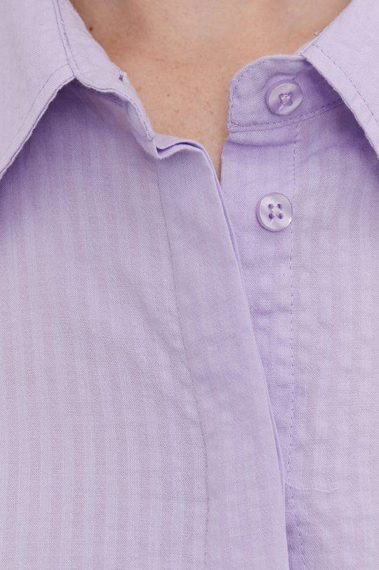 Answear Lab - Košeľa levanduľová