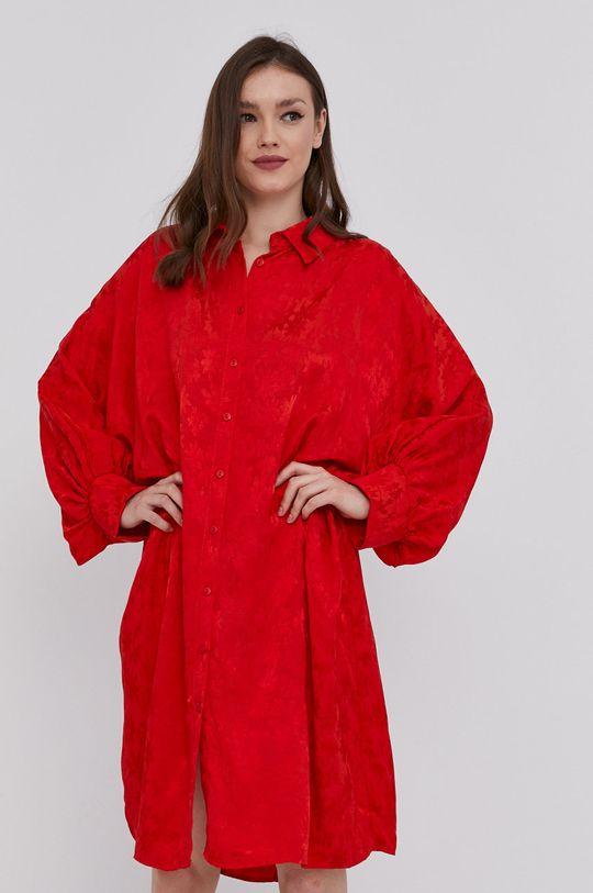 červená Answear Lab - Košeľa