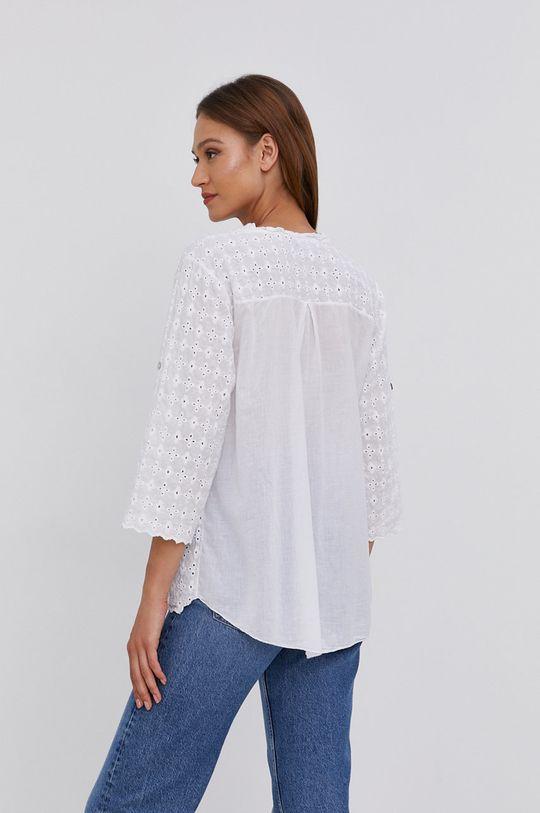 biały Answear Lab - Bluzka bawełniana