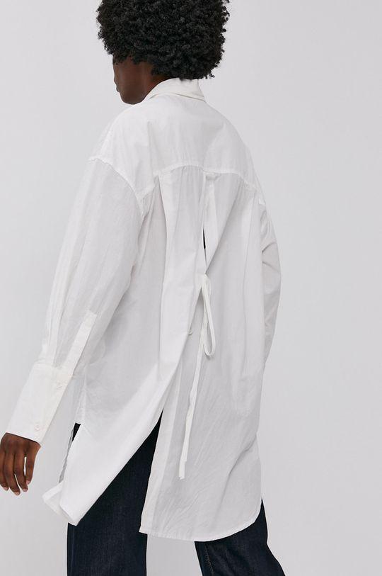 bílá Answear Lab - Bavlněná košile