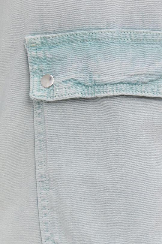 Answear Lab - Koszula bawełniana miętowy