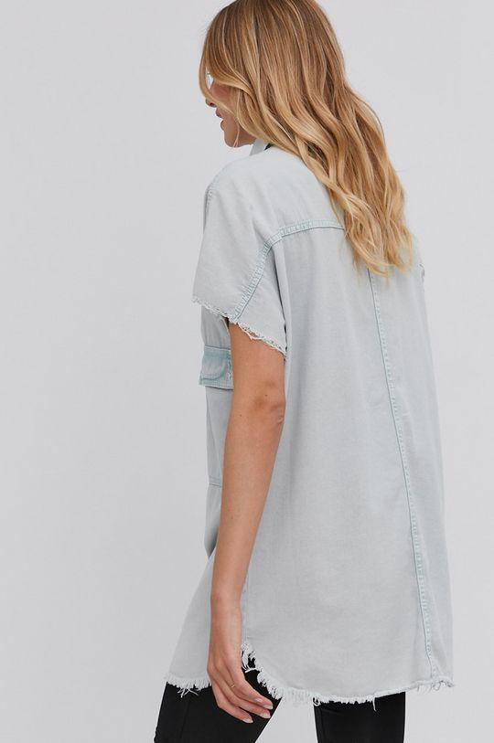 miętowy Answear Lab - Koszula bawełniana