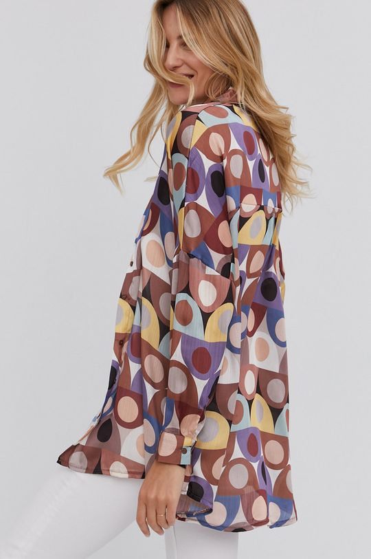 multicolor Answear Lab - Koszula Damski