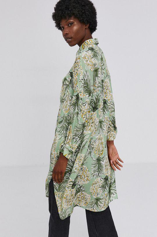 zielony Answear Lab - Koszula