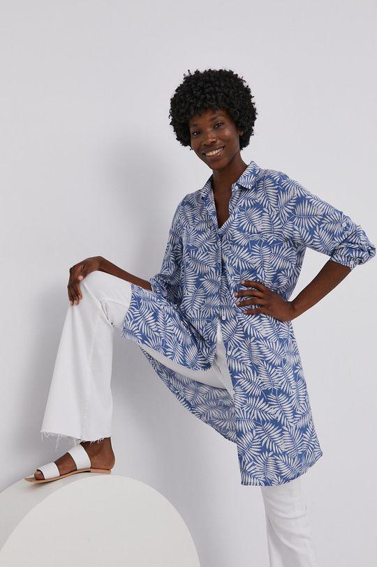 niebieski Answear Lab - Sukienka Damski