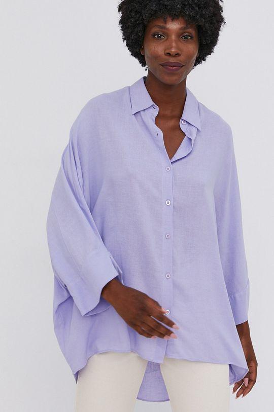 niebieski Answear Lab - Koszula