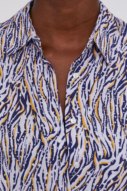 Answear Lab - Koszula fioletowy