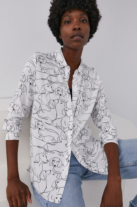 biały Answear Lab - Koszula Damski