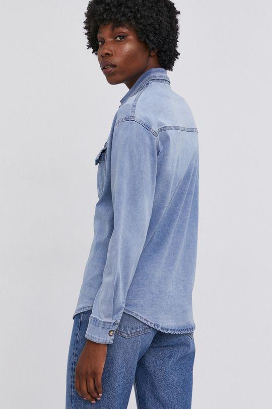 modrá Answear Lab - Džínová košile