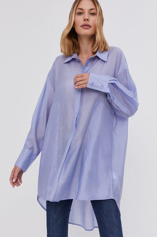 niebieski Answear Lab - Koszula Damski