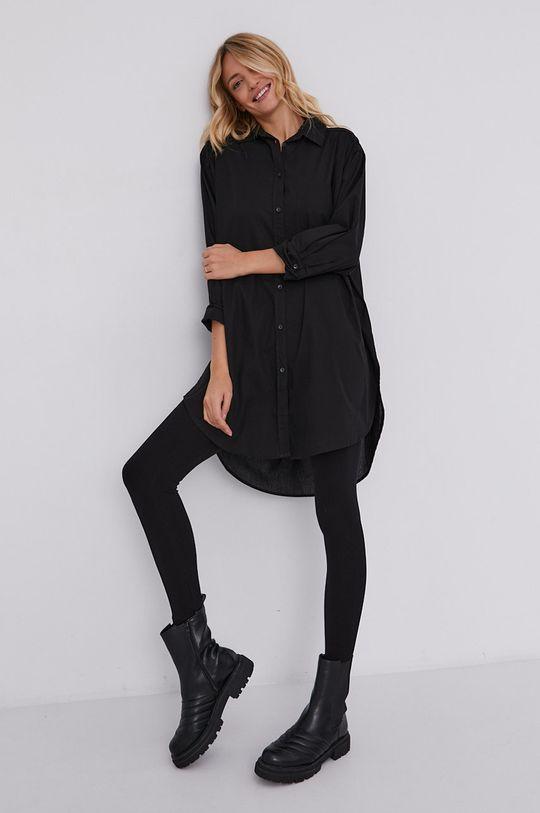 czarny Answear Lab - Koszula bawełniana Damski