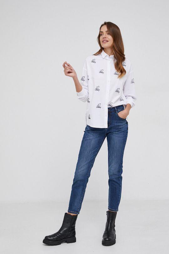 Answear Lab - Βαμβακερό πουκάμισο  100% Βαμβάκι