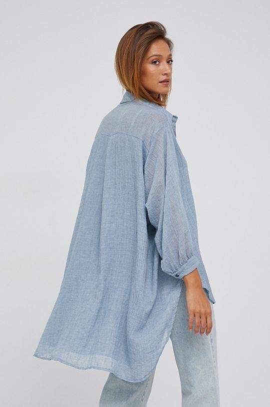 modrá Answear Lab - Košile se směsi vlny Dámský