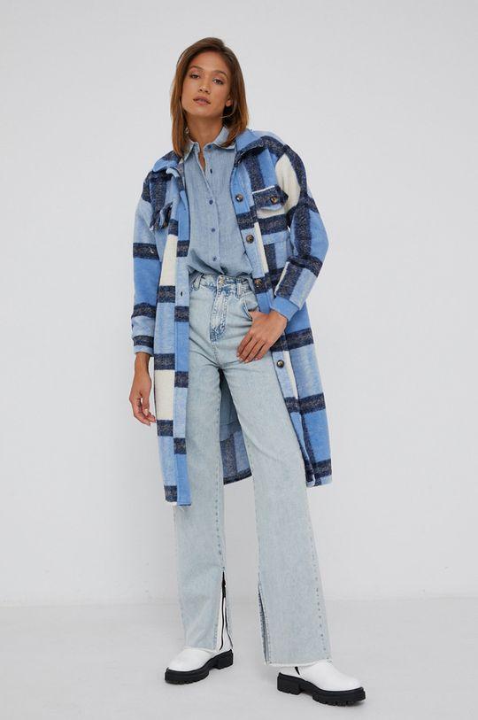 Answear Lab - Košile se směsi vlny  60% Bavlna, 10% Vlna, 30% Viskóza