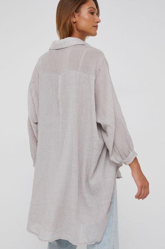 béžová Answear Lab - Košile se směsi vlny