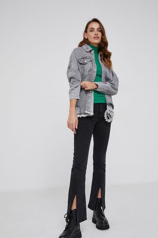 Answear Lab - Koszula jeansowa szary