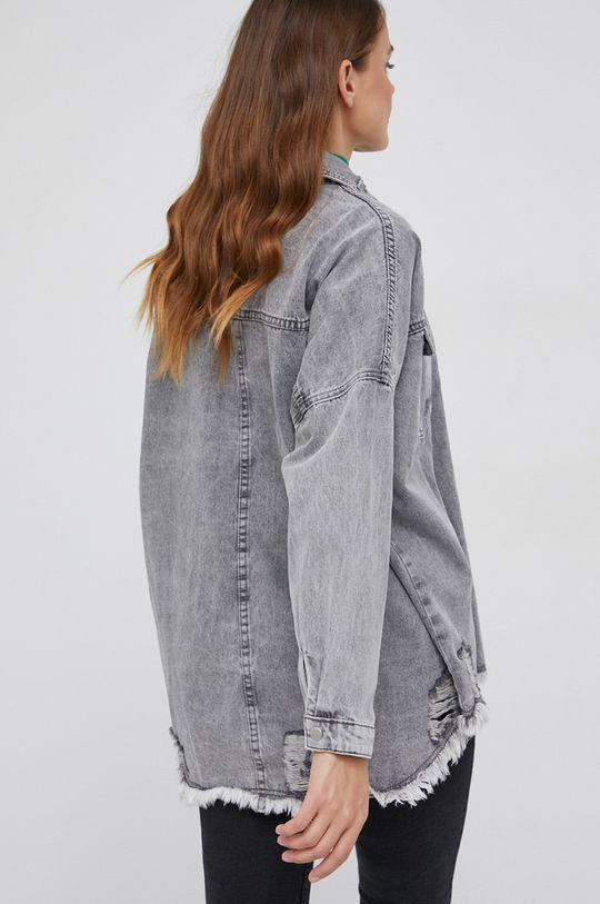 Answear Lab - Koszula jeansowa 98 % Bawełna, 2 % Elastan