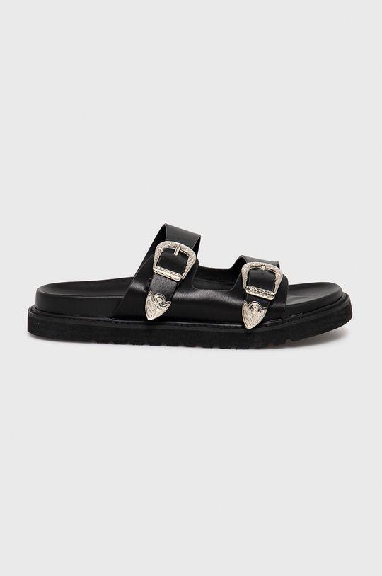 černá Answear Lab - Pantofle Alta Moda Dámský
