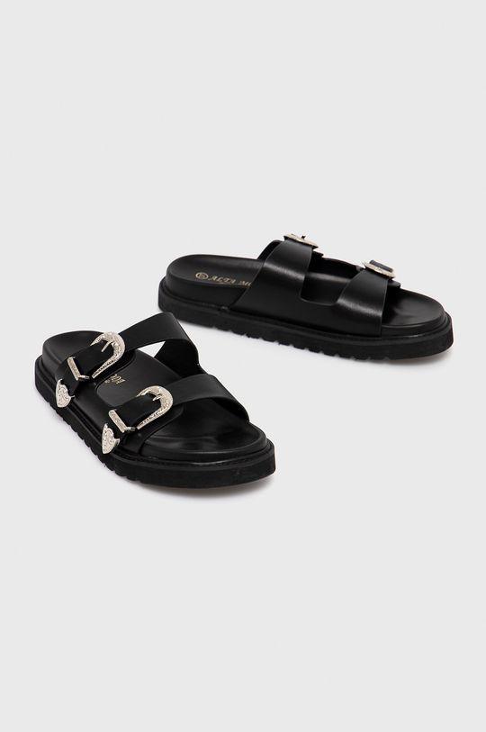 Answear Lab - Pantofle Alta Moda černá