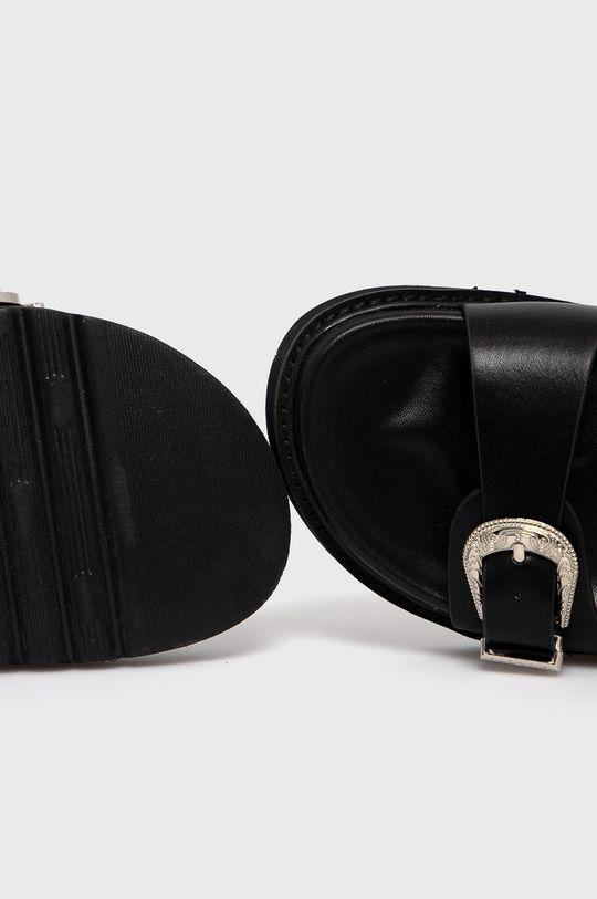 černá Answear Lab - Pantofle Alta Moda