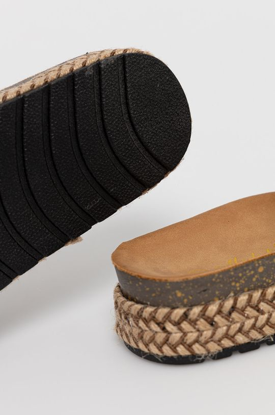 Answear Lab - Pantofle Moda Plus  Svršek: Umělá hmota Vnitřek: Umělá hmota, Textilní materiál Podrážka: Umělá hmota