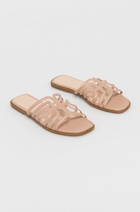 Answear Lab - Pantofle Ciaodea béžová