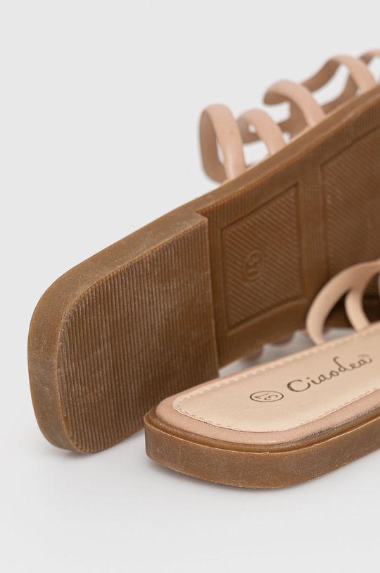 béžová Answear Lab - Pantofle Ciaodea
