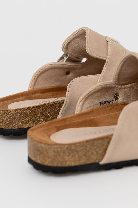 Answear Lab - Papuci Tulipano  Gamba: Material sintetic Interiorul: Material sintetic, Material textil Talpa: Material sintetic