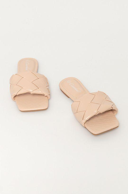 Answear Lab - Šľapky Ciaodea béžová