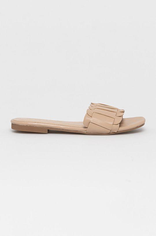 béžová Answear Lab - Pantofle Super Mode Dámský