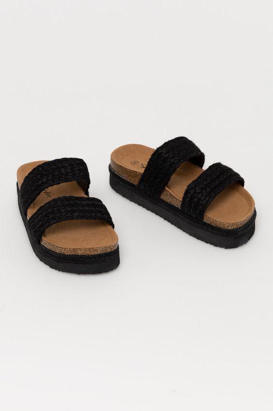 Answear Lab - Pantofle FlyFor černá