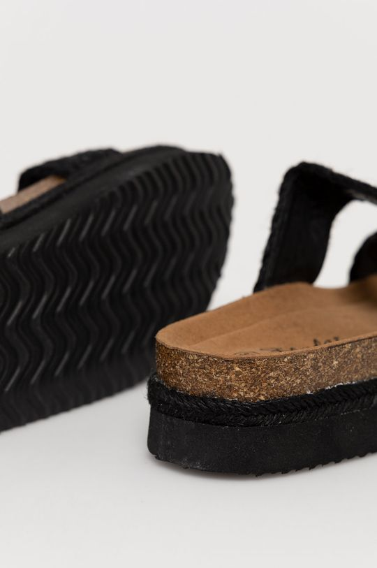 Answear Lab - Pantofle FlyFor  Svršek: Textilní materiál Vnitřek: Umělá hmota, Textilní materiál Podrážka: Umělá hmota