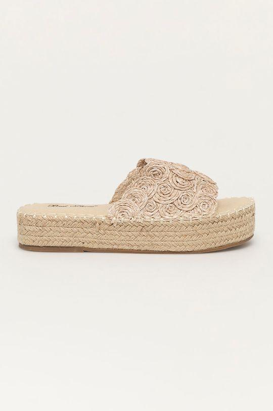 béžová Answear Lab - Šľapky Best Shoes Dámsky