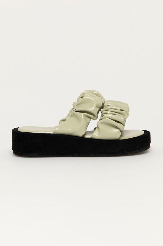 м'ятний Answear Lab - Шльопанці Best Shoes Жіночий
