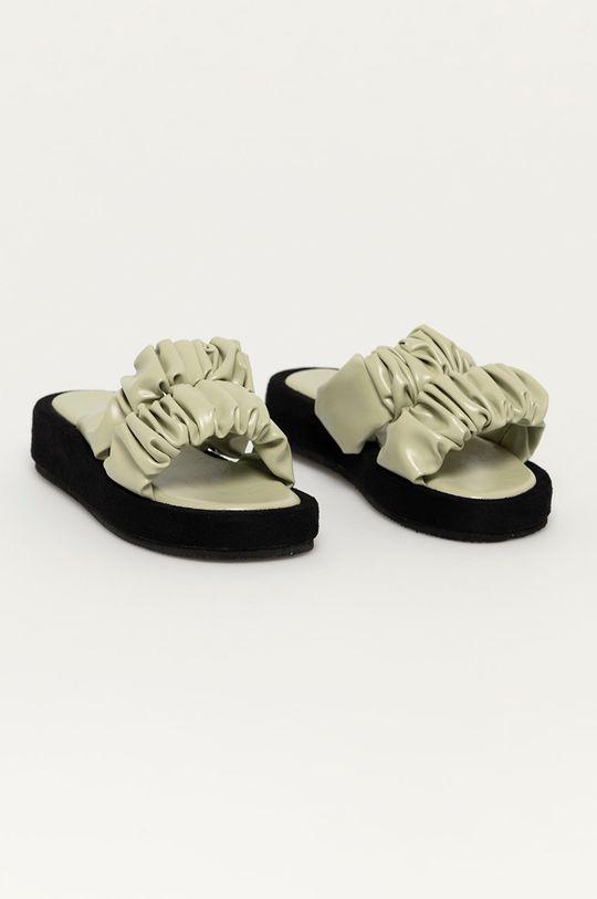 Answear Lab - Шльопанці Best Shoes м'ятний