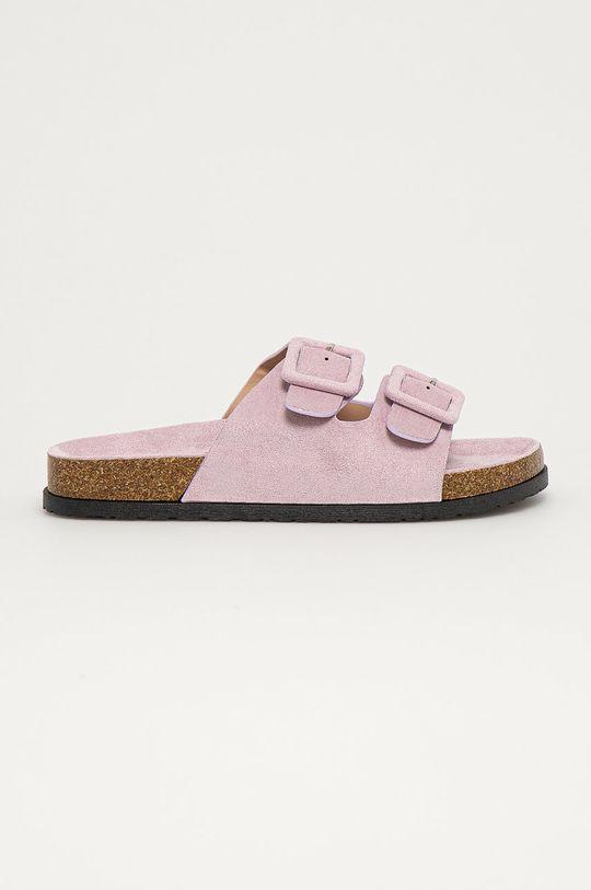 лавандовий Answear Lab - Шльопанці Best Shoes Жіночий