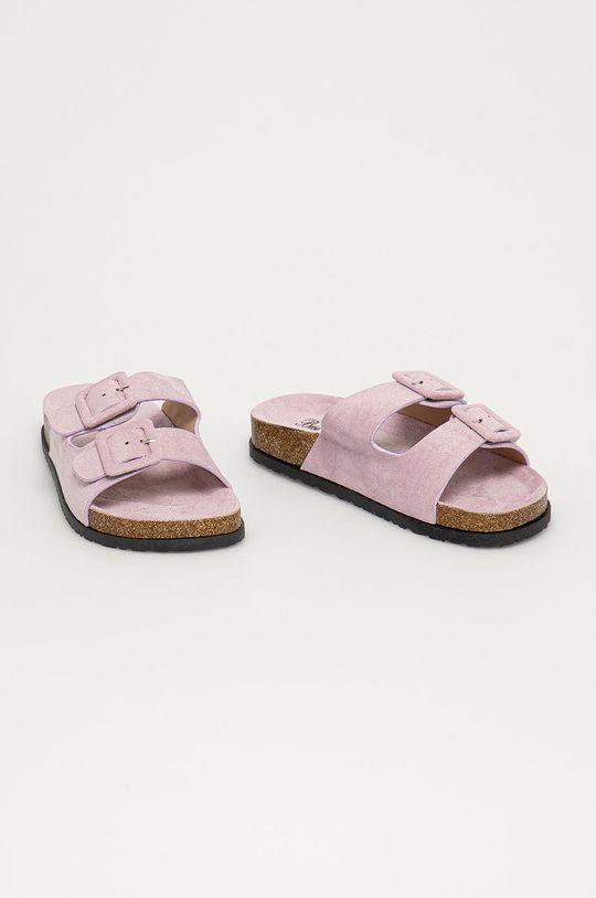 Answear Lab - Шльопанці Best Shoes лавандовий