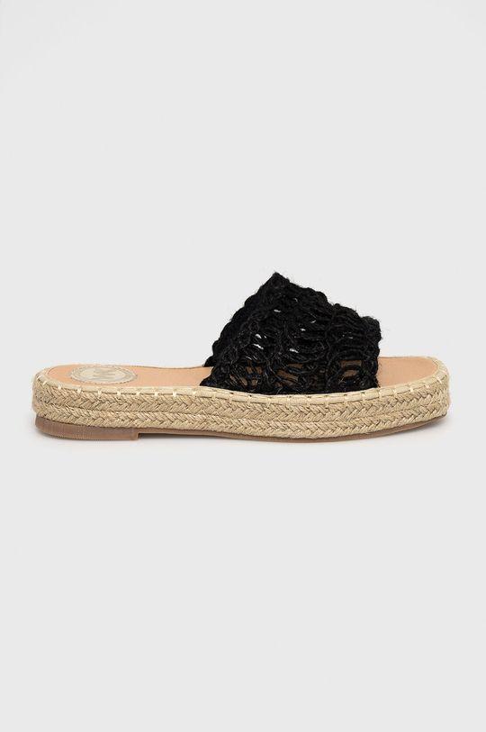 černá Answear Lab - Pantofle WK Dámský