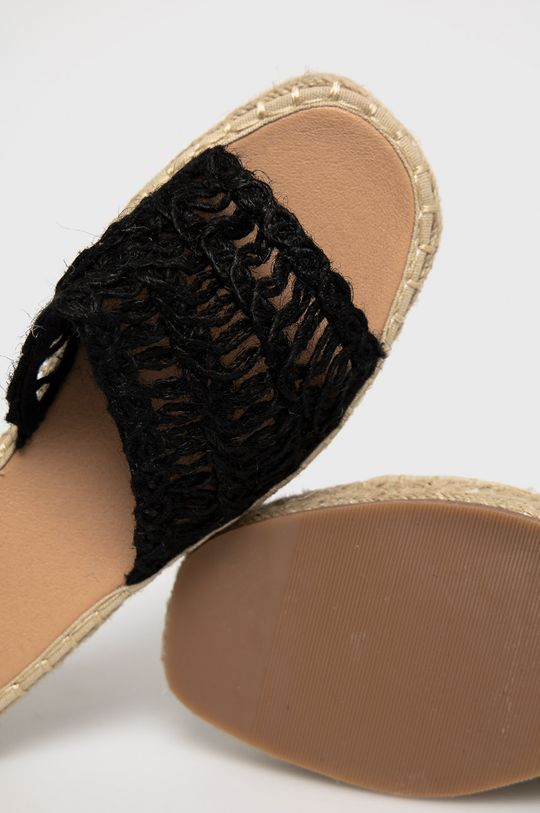černá Answear Lab - Pantofle WK